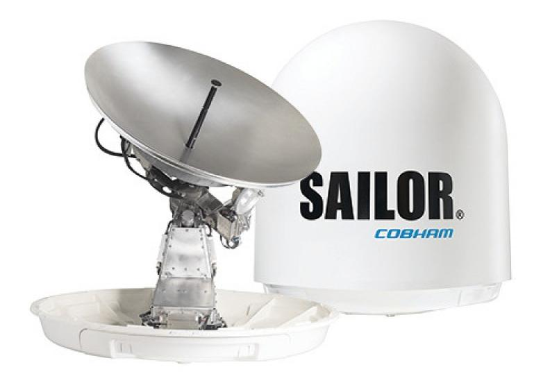 New terminal VSAT SAILOR 100 GX High Power