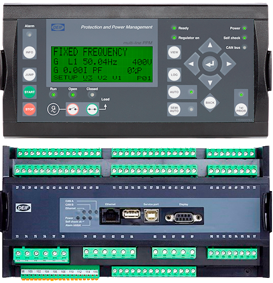 Ship Power Plant Management System PPM-3