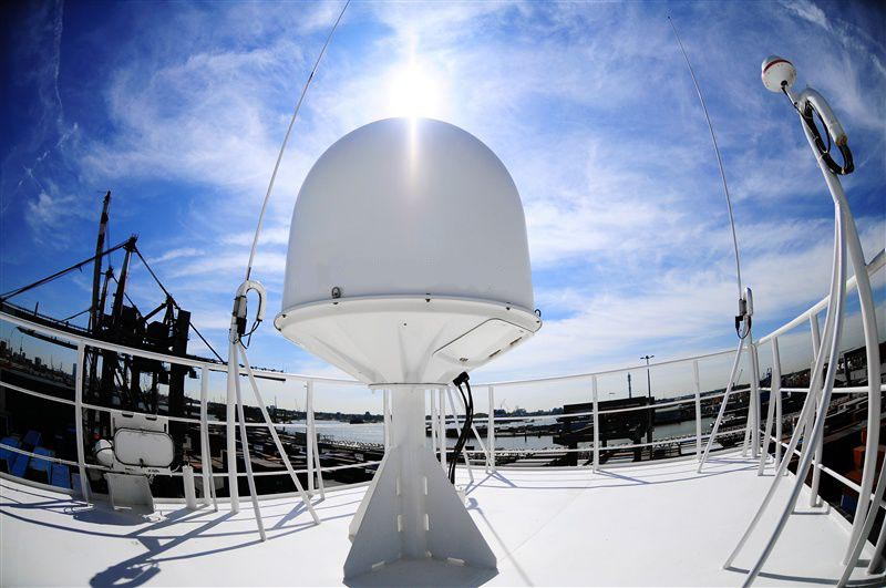 Forecasts of maritime satellite communications