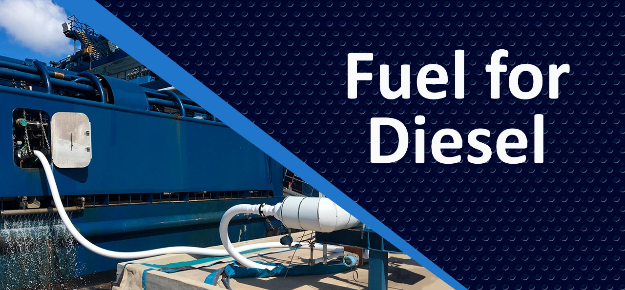Fuel for marine diesel engines