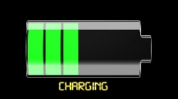 Calculate the recharge time of the battery