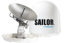 Новый терминал VSAT SAILOR 100 GX High Power